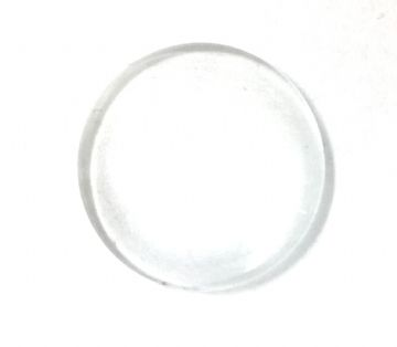 6 x 25mm round glass cabouchon with magnification